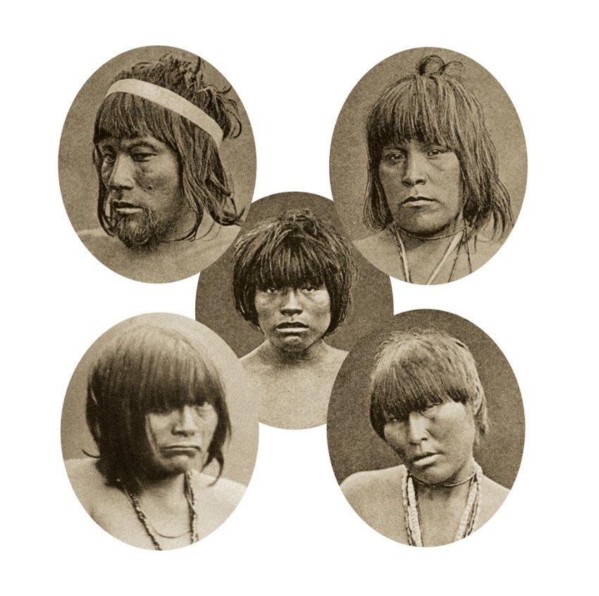 Ureinwohner / Chile / Kawesqar