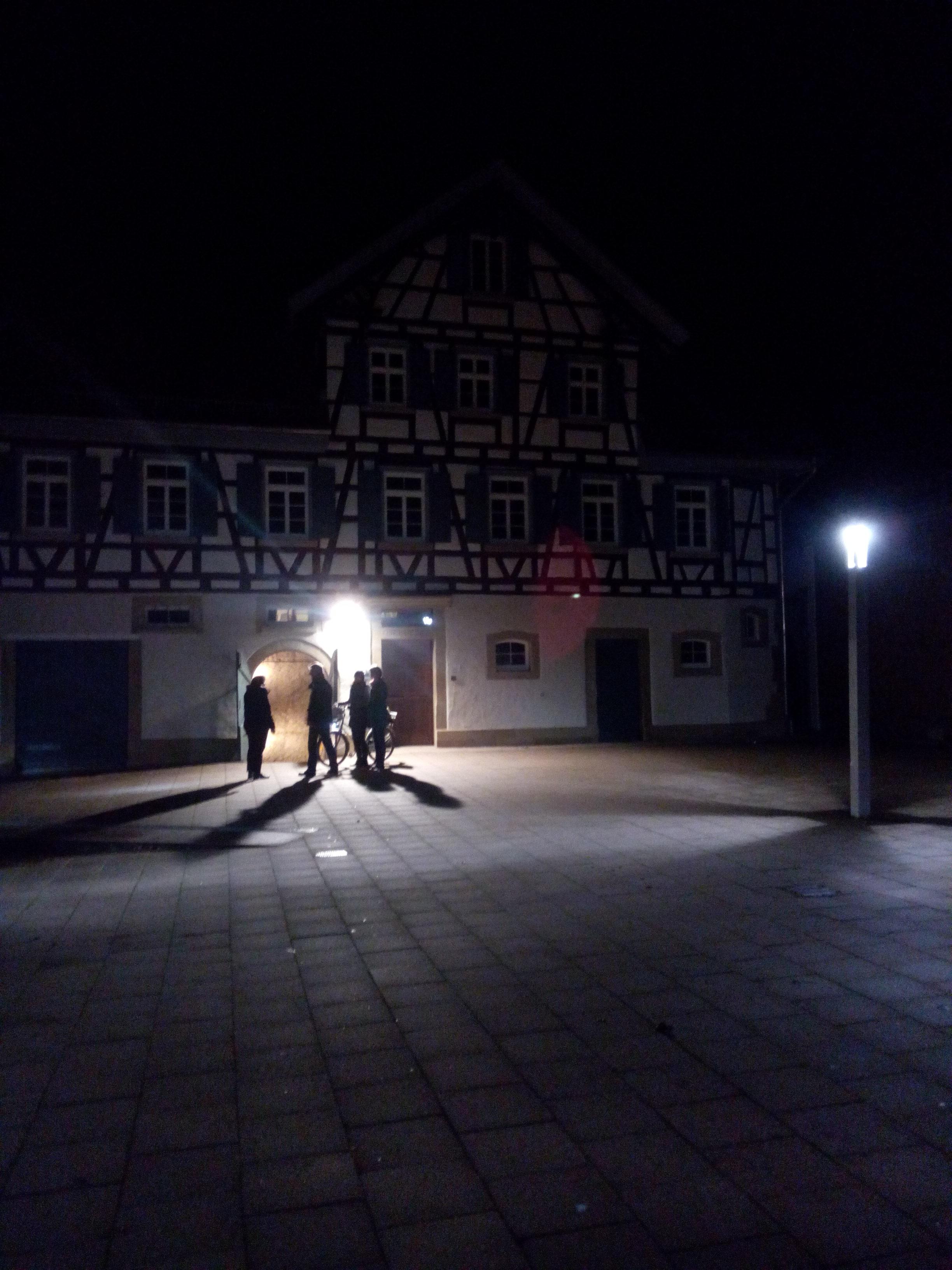 Spätnachts in Bonndorf