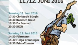War sehr angenehm am Samstag in Regensburg am Mundartfestival
