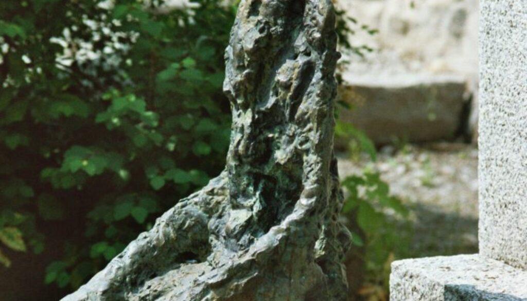 Alberto Giacomettis Grab