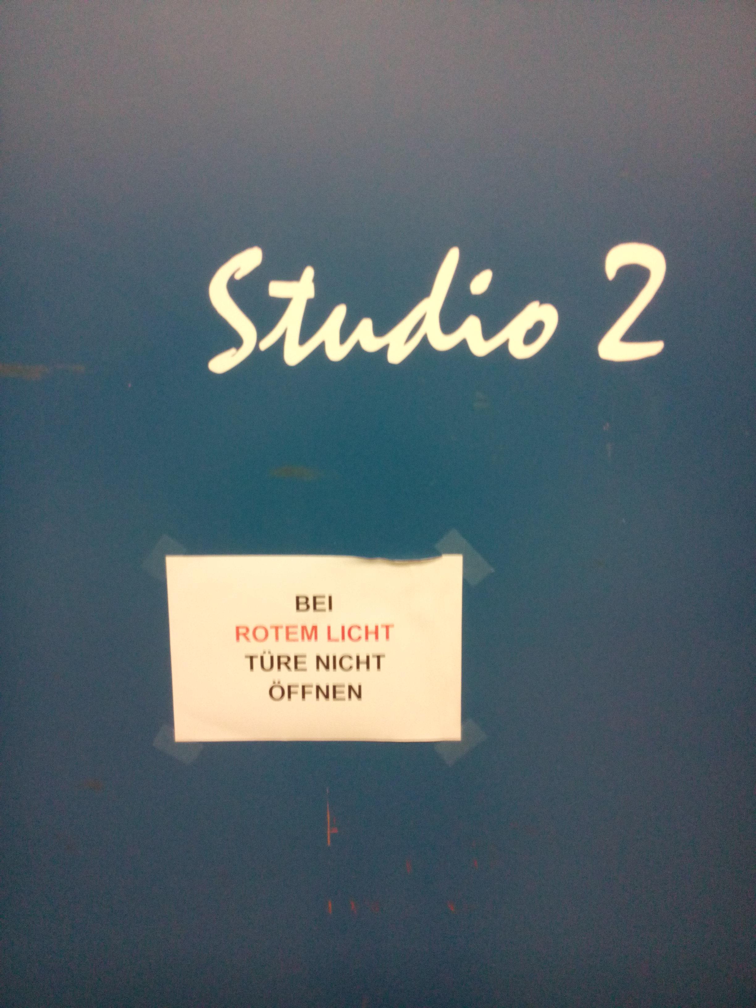Studio 2, Radio Munot