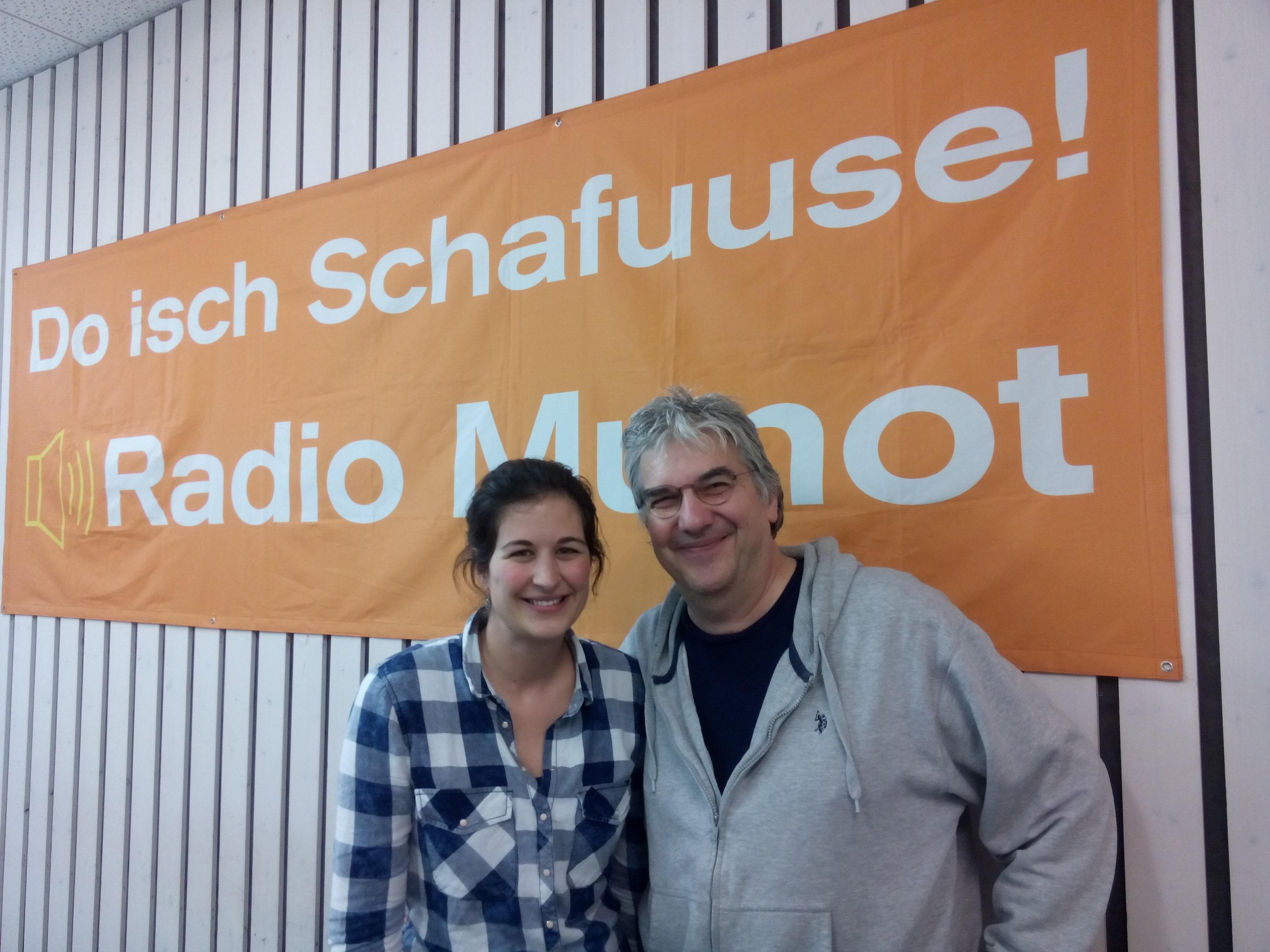 Radio Munot mit Sarah Keller