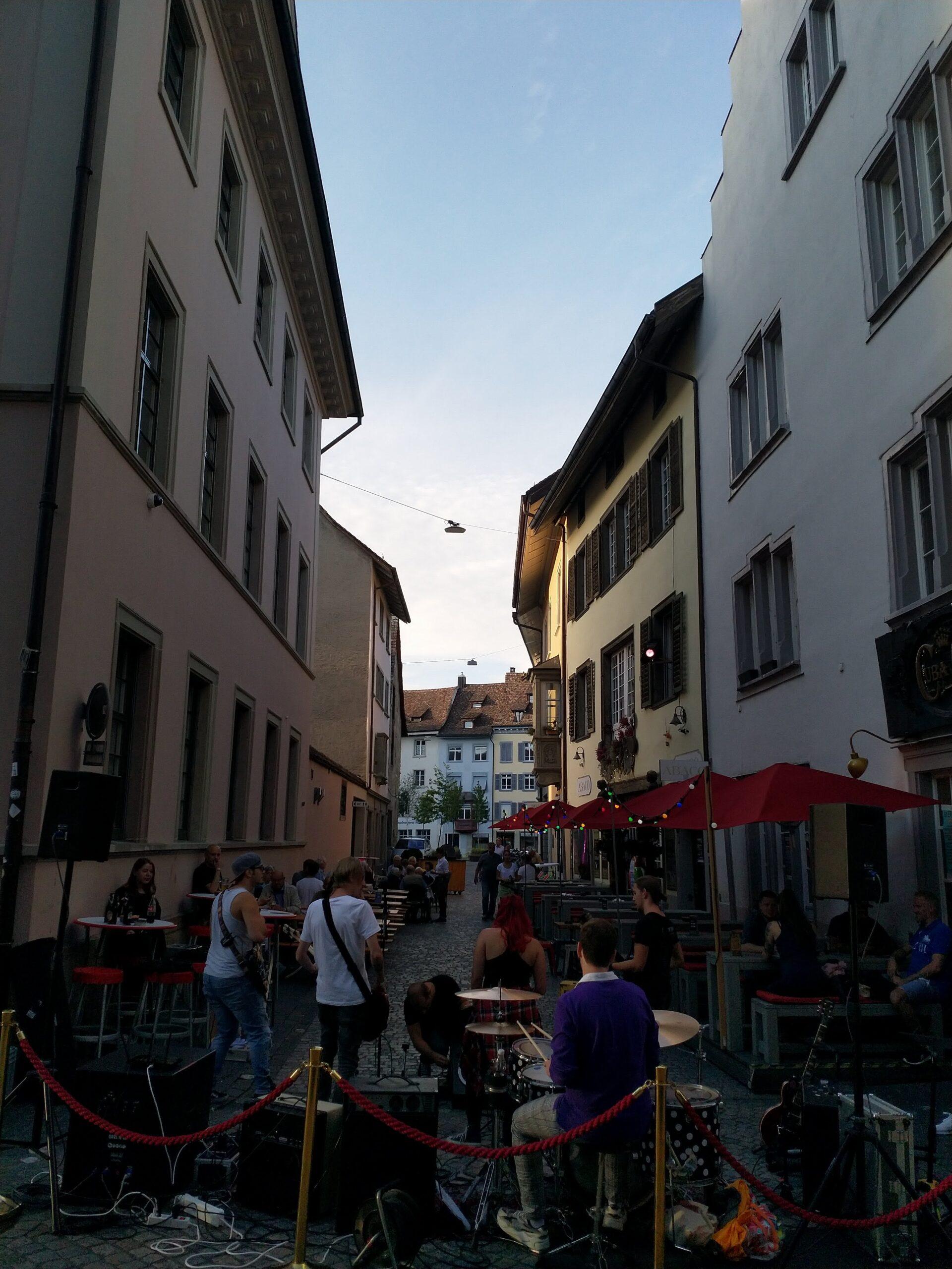 StreetMusicNightsBühne